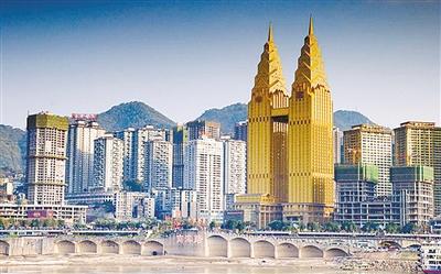 重庆黄金双子塔  (资料图)