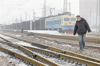 火车道岔的结构,是怎么工作的,什么原理