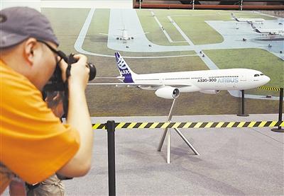 以外第一个能够同时交付窄体机和宽体机的航空中心
