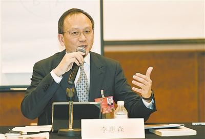 3月8日,全国政协委员李惠森在北京接受媒体采访时提出,家族企业是图片