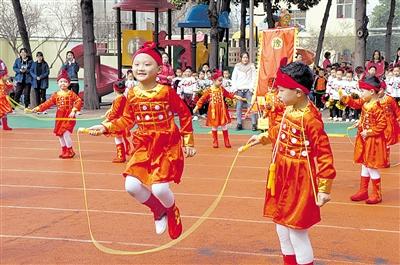 市育才幼儿园培养幼儿体育锻炼习惯