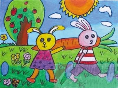 可爱的小白兔--平顶山新闻网