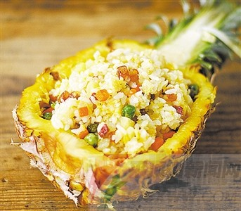 菠萝的花样吃法