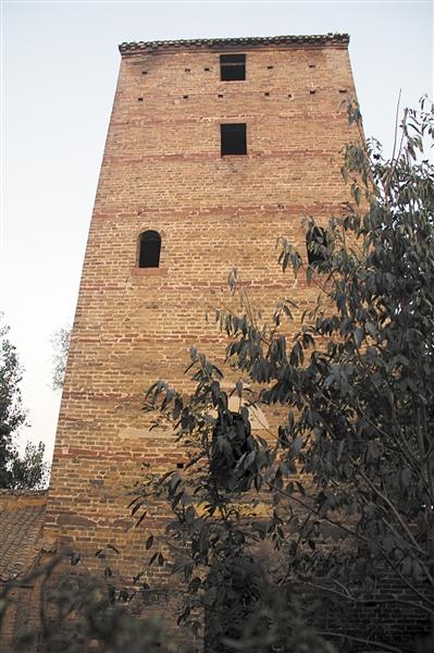 农村瞭望塔图片